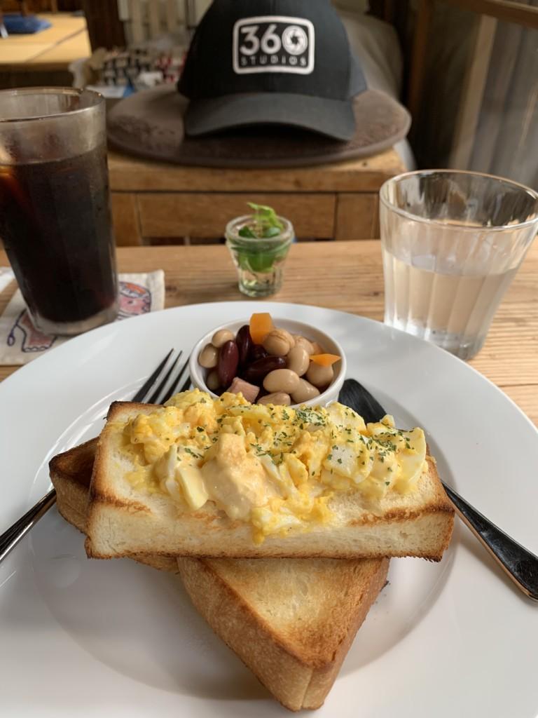 Mikan-ya egg toast set